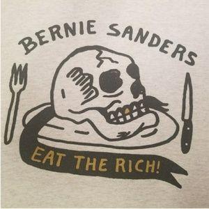 "Bernie Sanders, ""Eat the Rich "" E. Kenney Original"